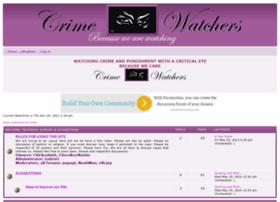 crimewatchers.forumotion.com