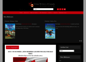 crimewriterscanada.com