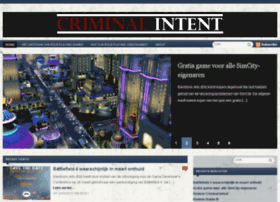 criminal-intent.nl