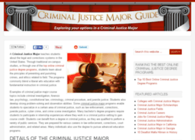 criminal-justice-major.net