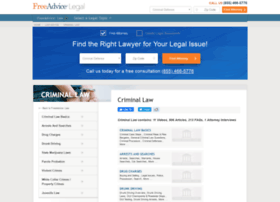 criminal-law.freeadvice.com