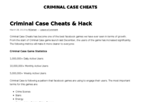criminalcasecheats.org