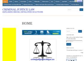 criminaljusticelaw.us