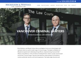 criminallawyervancouver.com