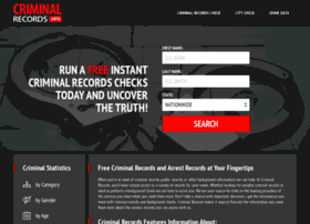 criminalrecords.info