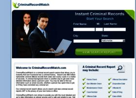 Criminalrecordwatch.com