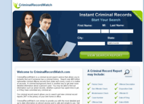 criminalrecordwatch.com