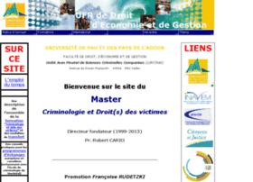 criminologie.univ-pau.fr