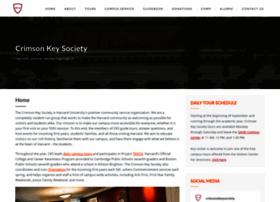 crimsonkeysociety.org