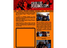 criollosperuanos.com