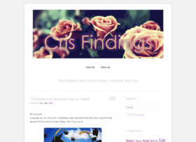 crisfindings.wordpress.com
