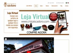 cristaiscadoro.com.br