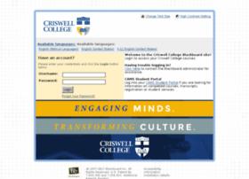 criswell.blackboard.com