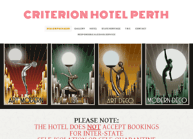 criterion-hotel-perth.com.au