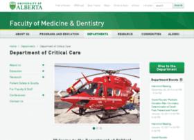 critical.med.ualberta.ca