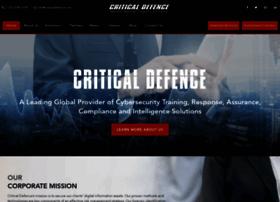criticaldefence.com
