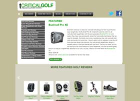 criticalgolf.com