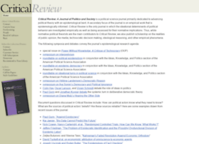 criticalreview.com