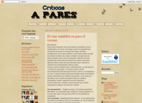 criticasapares.blogspot.com