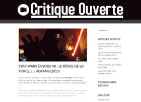 critique-ouverte.fr