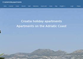 croatiaholidayapartments.com
