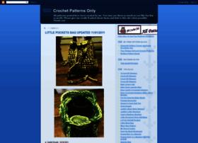 crochetpatternsonly.blogspot.com