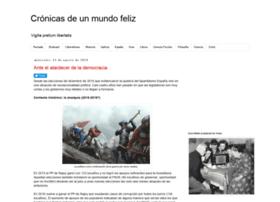 cronicasdeunmundofeliz.blogspot.com