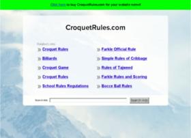 croquetrules.com