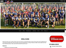 crosscreekcyclingclub.org