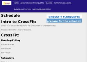 crossfit-marquette.com