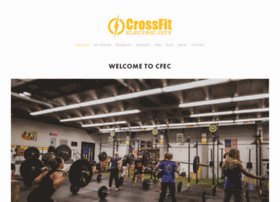 crossfitelectriccity.com