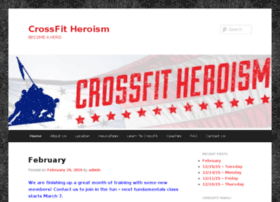 crossfitheroism.com