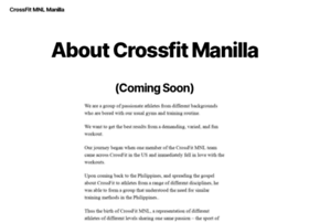 crossfitmnl.com