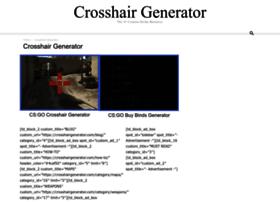 crosshairgenerator.com