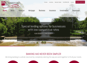 crossroadsbanking.com