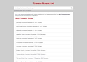 crosswordanswers.org