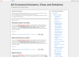 crosswords-solutions.blogspot.com