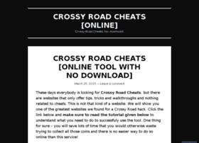 crossyroadcheatsonline.wordpress.com