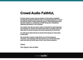crowdaudio.com