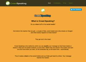 crowdspeaking.co