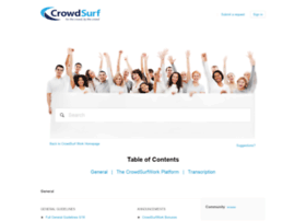 crowdsurf.zendesk.com
