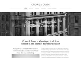 crowedunn.com