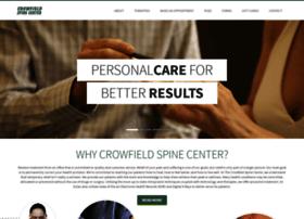Crowfieldspinecenter.com