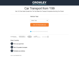 crowleyautotransport.com