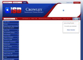 crowleyisd.schoolfusion.us