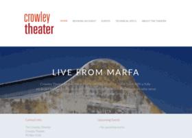 crowleytheater.org