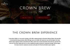 crownbrewcoffee.com