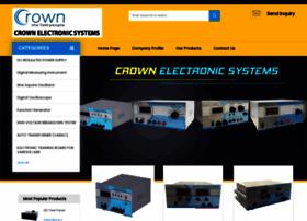 crownelectronicsystems.net