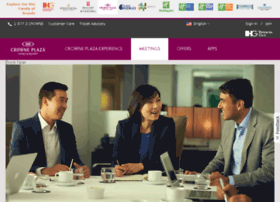 crowneplazameetings.com
