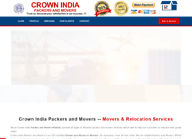 crownindiamovers.com